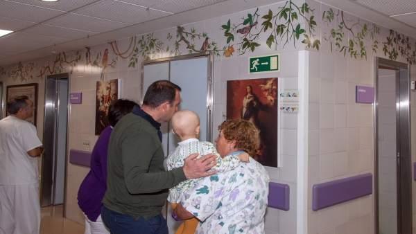 Exposición sobre Murillo en el Hospital Infantil de Sevilla
