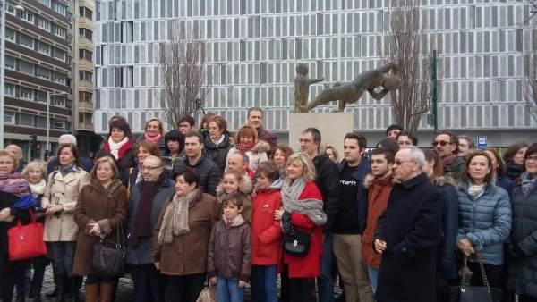 Homenaje a las víctimas del terrorismo