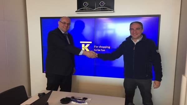 Bendodo se reúne con el presidente de la cadena Kesco de Finlandia