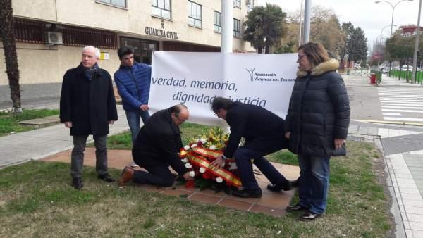 Palencia.- Ofrenda floral