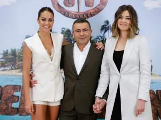 Jorge Javier Vázquez, Sandra Barneda y Lara Álvarez.