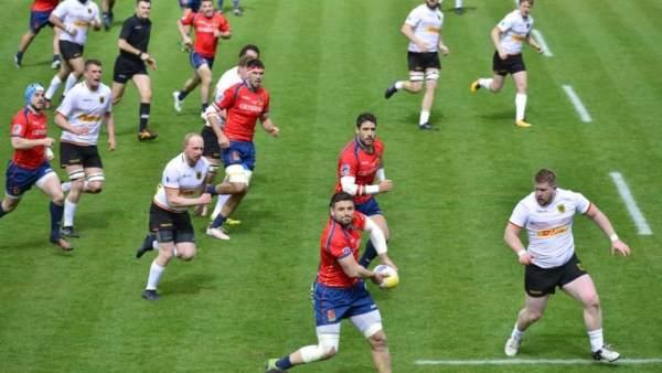España - Alemania de rugby