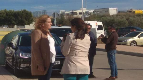 La alcaldesa de Níjar, Esperanza Pérez