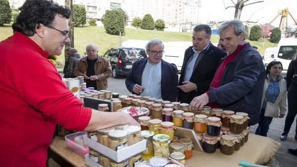 De la Sierra en la Feria de Productos de Cantabria en Astillero