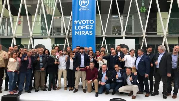 López Miras en el cierre de su campaña de cara a las primarias del PPRM