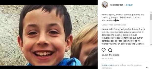 Instagram de Valeria Quer