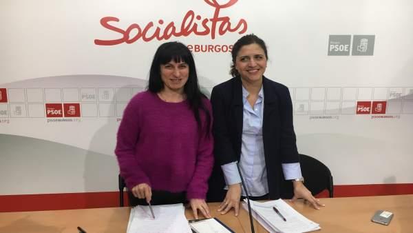 La foto es mía, Silvia Adrián y Esther Peña