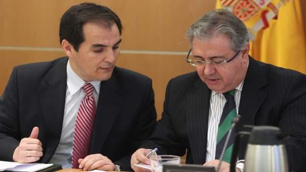 Zoido en una reunión con los consejeros de Interior por el Pacto Antiyihadista