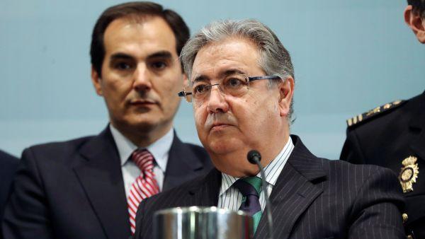 Juan Ignacio Zoido y José Antonio Nieto