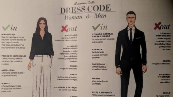 Dress code Massimo Dutti.