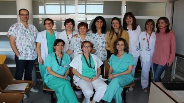 Equipo de pediatría del Hospital Arnau de Vilanova