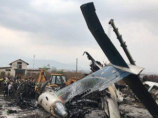 Accidente de avión en Katmandú