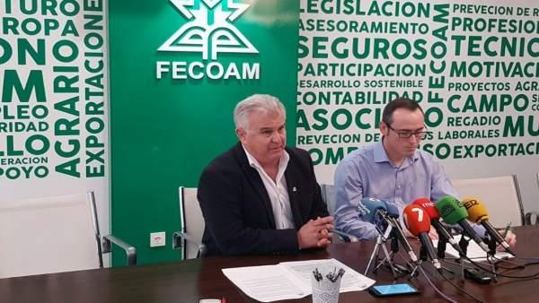 Pascual Hortelano y Antonio Hernández de Fecoam