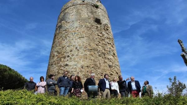 El PP en la Torre Vigía de Mijas