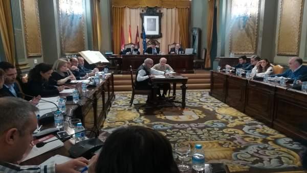 Pleno Diputación de Albacete