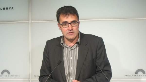 El exsecreatrio de Hacienda, Lluís Salvadó, en una imagen de archivo.