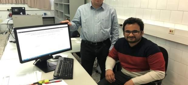 Mohammed Jabreel y Antonio Moreno (URV)