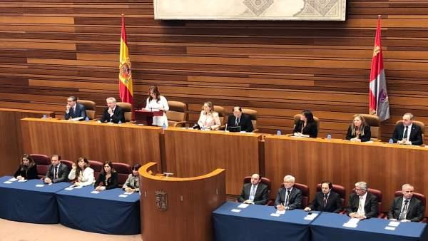 Acto conmemorativo en las Cortes de CyL con Congreso y Senado 12-3-2018