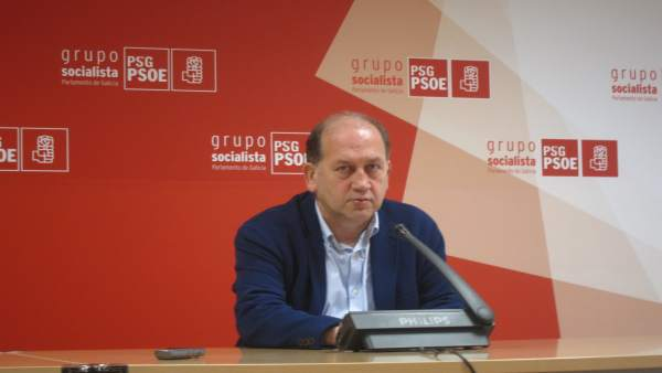 El portavoz de los socialistas en la Cámara gallega, Xoaquín Fernández
