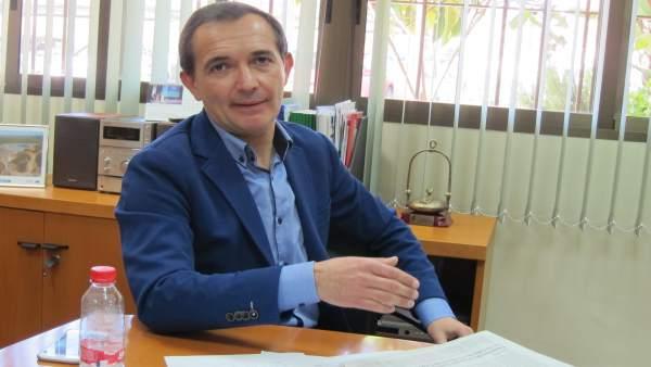 El delegado de Economía en Huelva, Manuel Ceada.