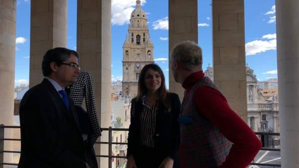 PACHECO Y PE´REZ EN PRESENTACIÓN 'Bienvenida De Primavera'