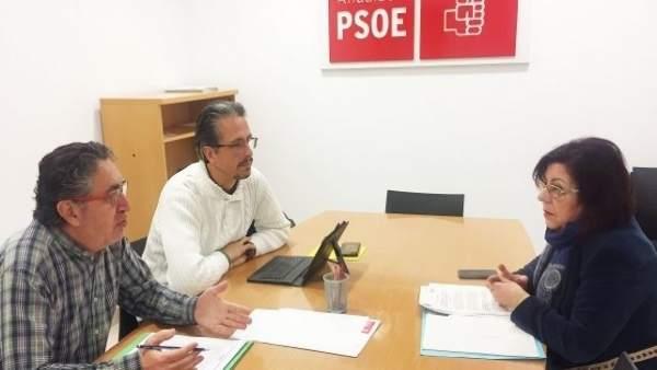 La senadora por el PSOE de Huelva Ana Pérez.