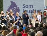 Recepció president Diputació de València a les comissions falleres.