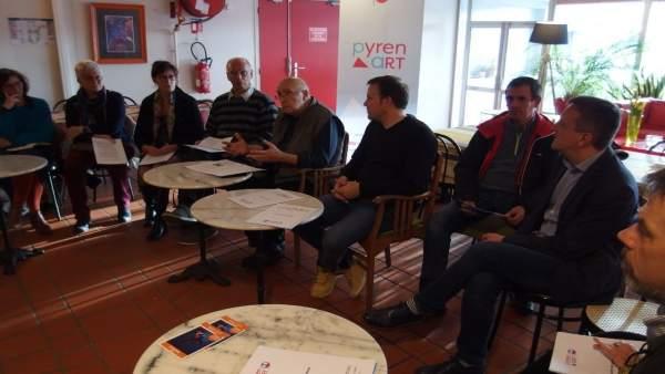 Presentación de Pyrenart en Foix (Francia)