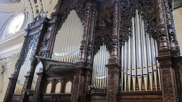 Órgano sinfónico de la Basílica del Pilar de Zaragoza