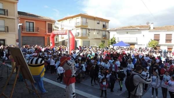 Marcha solidaria contra el cáncer infantil