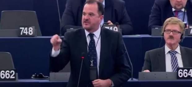 """""""En España no hay presos políticos sino delincuentes"""", ha afirmado Carlos Iturgaiz en el Pleno del Parlamento Europeo."""