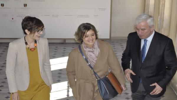 Tejerina en la Comisión de Seguimiento del Pacto del Agua de Aragón