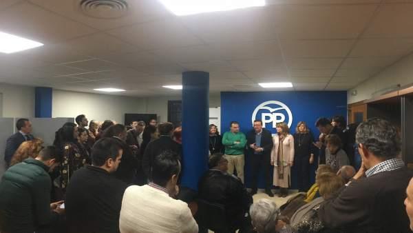 Encuentro con militantes del PP de Huelva capital