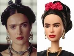Salma Hayek, Barbie y Frida Kahlo