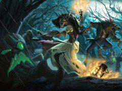 'El Bosque embrujado'