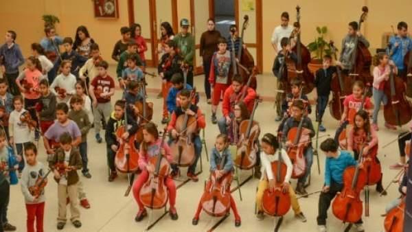 Barrios Orquestados música refugiados