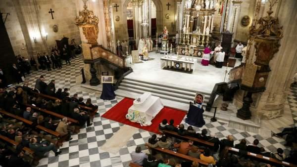 Misa funeral del niño Gabriel Cruz, en la Catedral de Almería