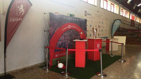 Copa de la Liga Santander en Cáceres