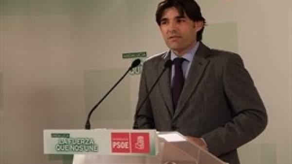 El exalcalde de Santa Fe Sergio Bueno (PSOE)