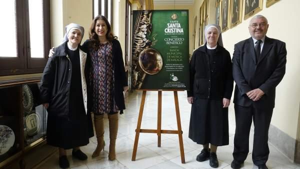 Presentación del concierto a favor de las Hermanitas de los Pobres