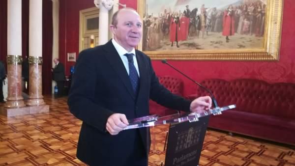 Andreu Alcover, diputado y portavoz del PSIB en el Parlament