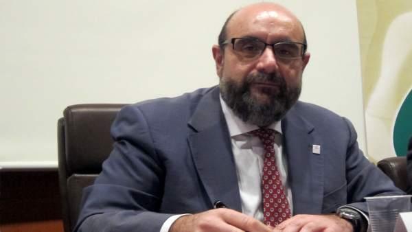 El Presidente Nacional De CSIF En Salamanca. 13-03-18.
