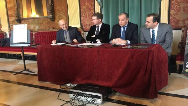 De i a d, Saturnino López, Javier Lacalle, Víctor Cámara y José Antonio Antón
