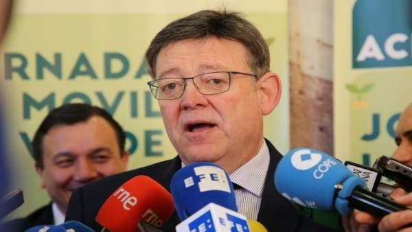 """Puig sobre la proposta d'Echávarri per a deixar l'Alcaldia: """"S'obri la porta a una solució i va per bon camí"""""""