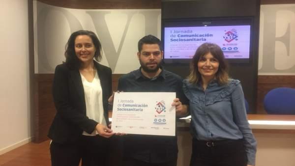 Jimena Pascual, Rubén Rosón y Erica Morán