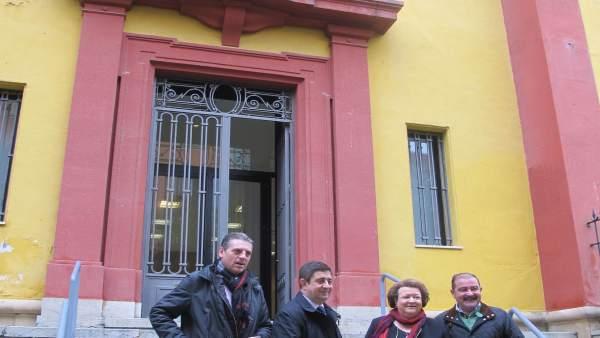 Visita a la antigua sede de Banesto