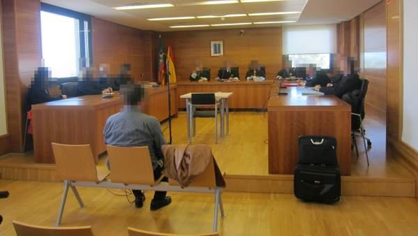 Sala de juzgado