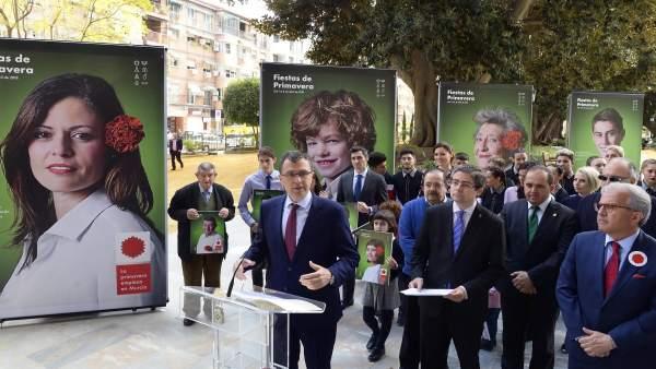 El alcalde de Murcia presenta la campaña de Primavera