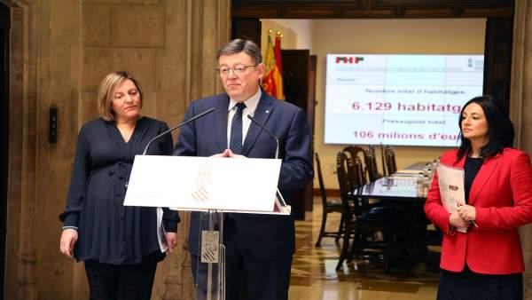 """La Generalitat llança un pla per a posar en el mercat més de 6.000 vivendes i oferir lloguers """"assequibles"""""""