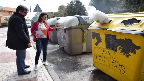 Ciudadanos (Cs)| Ciudadanos Propone La Sustitución De Contenedores En La Vía Púb